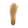 Ballerine con tacco bata, beige, 524-8420 - 19