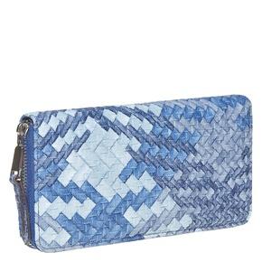 Portafoglio blu da donna con decorazioni bata, viola, 941-9149 - 13