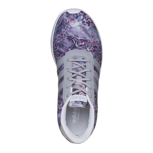 Sneakers sportive da donna con motivo colorato adidas, grigio, 509-1336 - 19
