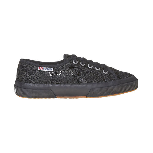 Sport shoe  superga, nero, 589-6309 - 15