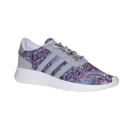 Sneakers sportive da donna con motivo colorato adidas, grigio, 509-1336 - 13