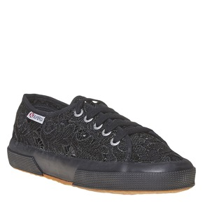 Sport shoe  superga, nero, 589-6309 - 13
