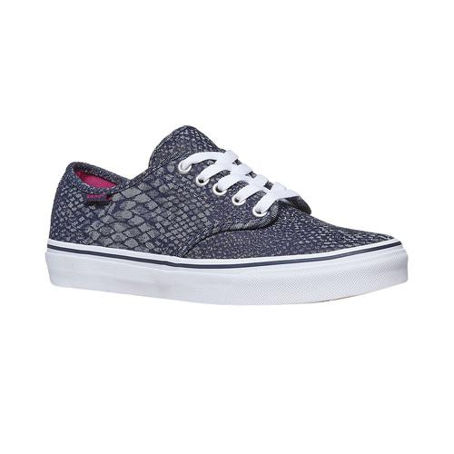 Sneakers da donna con motivo vans, viola, 589-9913 - 13