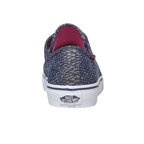 Sneakers da donna con motivo vans, viola, 589-9913 - 17