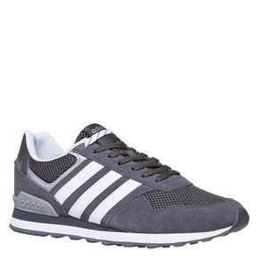 Sneakers da uomo in pelle adidas, grigio, 803-2193 - 13