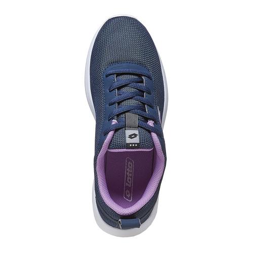 Sneakers blu da donna lotto, nero, 509-6952 - 19