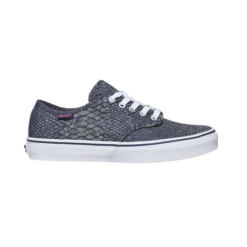 Sneakers da donna con motivo vans, viola, 589-9913 - 15