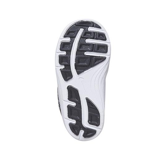 Sneakers da bambina con chiusura a velcro nike, nero, 109-6149 - 26