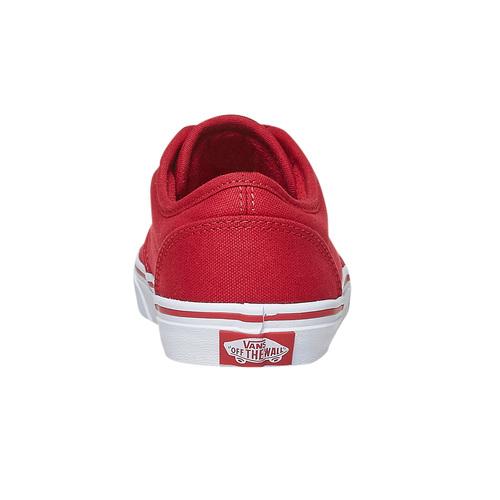 Sneakers rosse da bambino vans, rosso, 489-5101 - 17