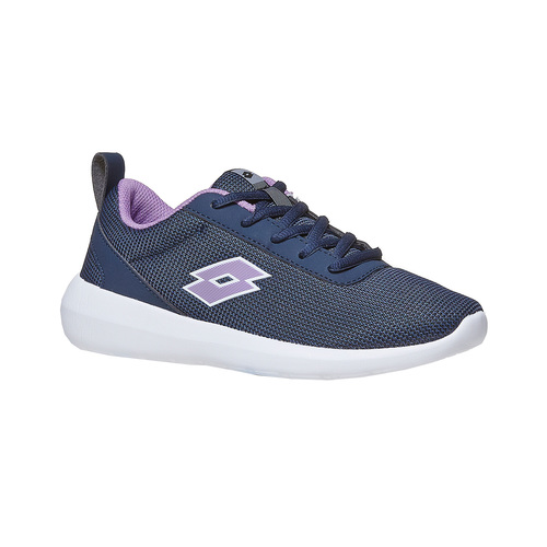Sneakers blu da donna lotto, nero, 509-6952 - 13