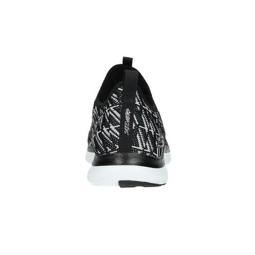 Sneakers sportive con motivo skechers, nero, 509-6967 - 17