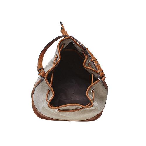 Borsetta da donna in stile Bucket Bag bata, marrone, 969-8332 - 15