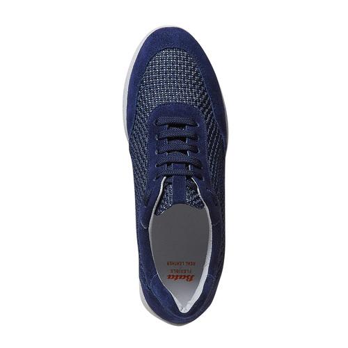 Sneakers casual da donna flexible, blu, 529-9586 - 19