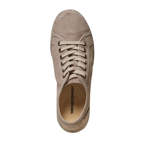 Scarpe basse casual da donna weinbrenner, beige, 546-8201 - 19
