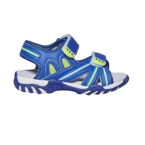 Sandali blu da bambino mini-b, blu, 261-9193 - 15