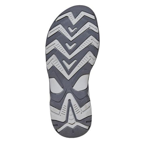 Sandali in pelle da bambino mini-b, blu, 363-9198 - 26