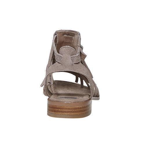 Sandali in pelle con frange bata, 563-2442 - 17