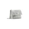 Minibag in vera pelle bata, argento, 964-2239 - 13