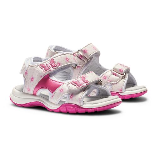 Sandali da bimba mini-b, bianco, 261-1192 - 26