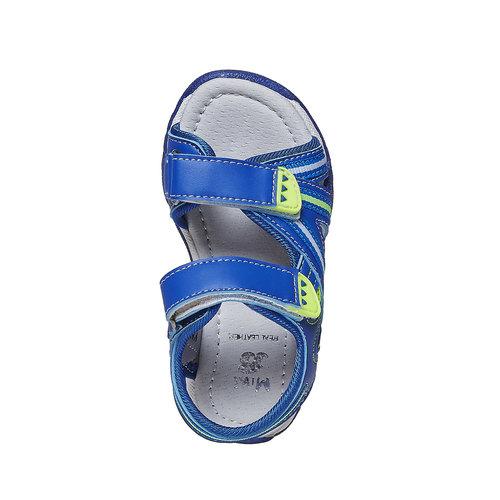 Sandali blu da bambino mini-b, blu, 261-9193 - 19