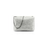 Minibag in vera pelle bata, argento, 964-2239 - 26