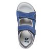 Sandali in pelle blu mini-b, blu, 264-9184 - 19