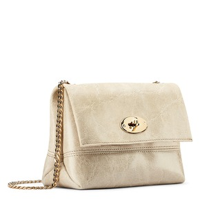 Borsetta in pelle color crema bata, beige, 964-8239 - 13