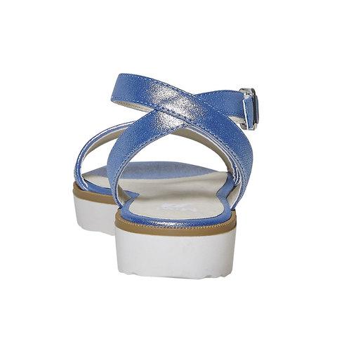 Sandali blu da bambina mini-b, blu, 361-9194 - 17