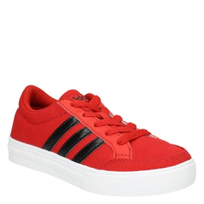 Sneakers rosse da bambino adidas, rosso, 389-5119 - 13