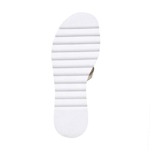Sandali dorati da ragazza mini-b, marrone, 361-3203 - 26