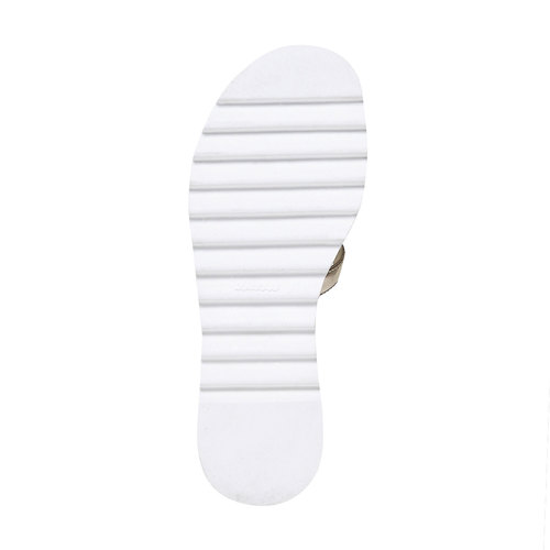 Sandali dorati da ragazza mini-b, oro, 361-3203 - 26