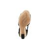 Sandali con zeppa insolia, nero, 769-6645 - 19