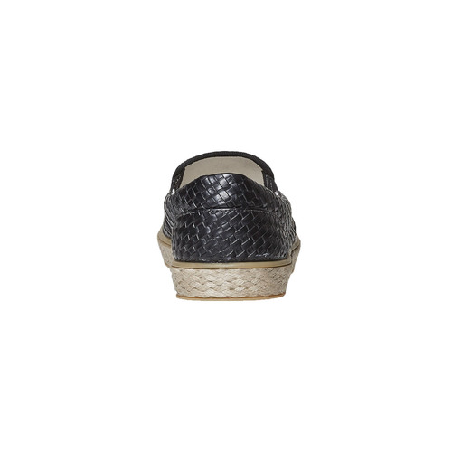 Slip-on da uomo north-star, nero, 851-6316 - 17