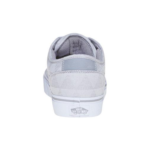 Sneakers casual da uomo vans, grigio, 889-2199 - 17