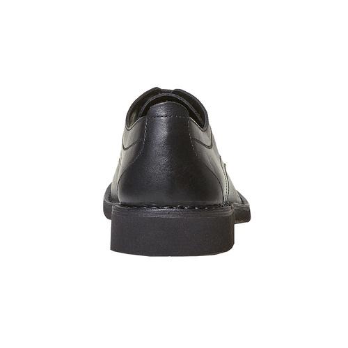 Scarpe basse da uomo in pelle, nero, 854-6111 - 17