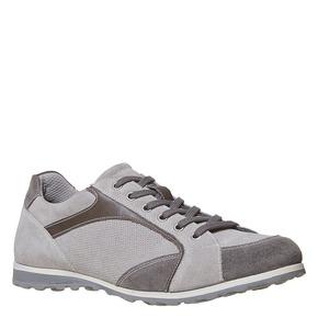 Sneakers grigie da uomo bata, grigio, 843-2295 - 13