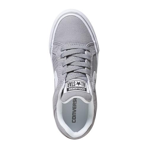 Sneakers grigie da bambino converse, grigio, 389-2259 - 19