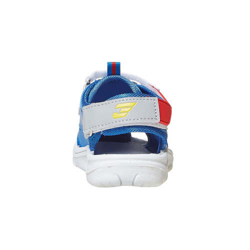 Sandali da bambino con stampa, blu, 261-9195 - 17