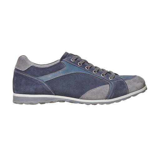 Sneakers casual da uomo bata, blu, 843-9295 - 15