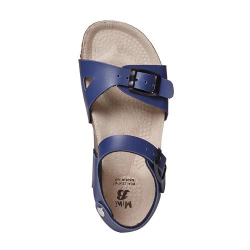 Sandali blu da bambina mini-b, blu, 361-9233 - 19
