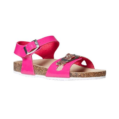 Sandali rosa da bambina con glitter mini-b, rosa, 361-5232 - 13