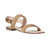 Sandali dorati da donna bata, marrone, 561-3501 - 13