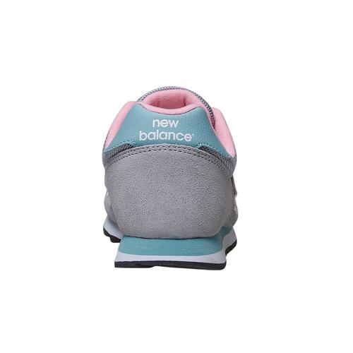 Sneakers da donna in pelle new-balance, grigio, 503-2107 - 17