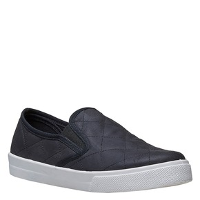 Slip-on da donna con cuciture north-star, nero, 531-6125 - 13