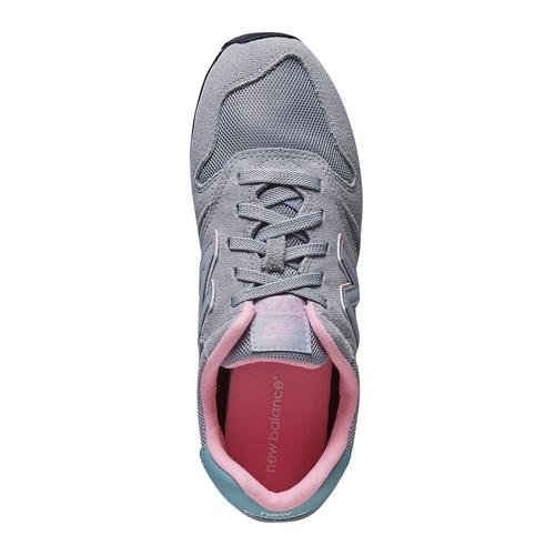 Sneakers da donna in pelle new-balance, grigio, 503-2107 - 19