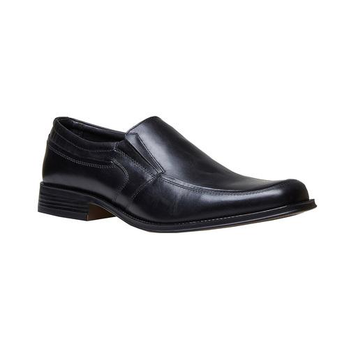 Loafer in pelle da uomo, nero, 814-6168 - 13