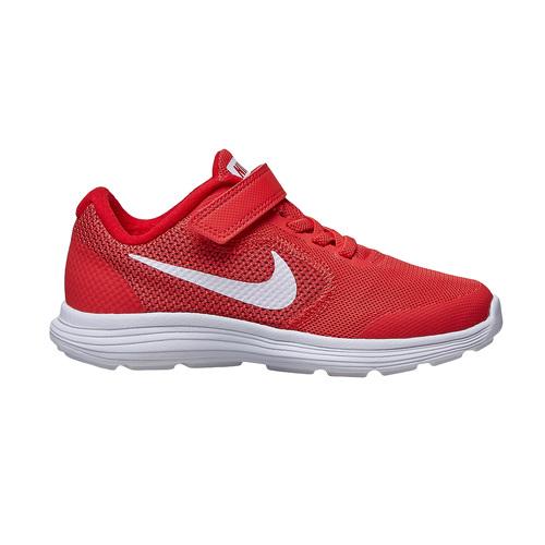 Sneakers rosse da bambino nike, rosso, 309-5249 - 15