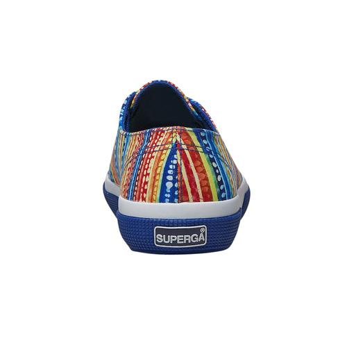 Sneakers con motivo colorato superga, blu, 589-9191 - 16