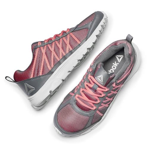 Scarpe running da donna reebok, rosso, 509-5180 - 19