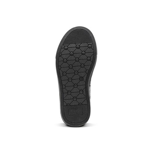 Sneakers alte con strass mini-b, nero, 229-6204 - 17